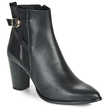Schoenen Dames Enkellaarzen So Size AURELIO Zwart