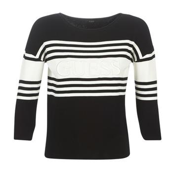 Textiel Dames Truien Guess VIOLANTE Zwart / Wit