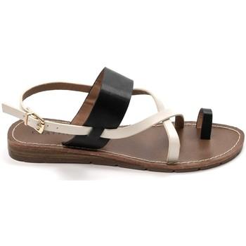 Schoenen Dames Sandalen / Open schoenen Chattawak sandales 7-VALERIANE Noir Zwart