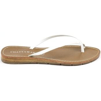 Schoenen Dames Sandalen / Open schoenen Chattawak sandales 7-RIADE Blanc Wit