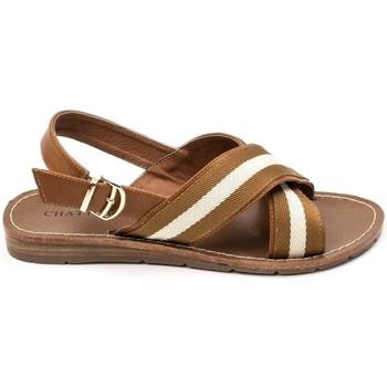 Schoenen Dames Sandalen / Open schoenen Chattawak sandales 7-TIFFANY Camel Bruin
