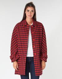 Textiel Dames Mantel jassen Benetton SIDUDEL Bruin / Multi