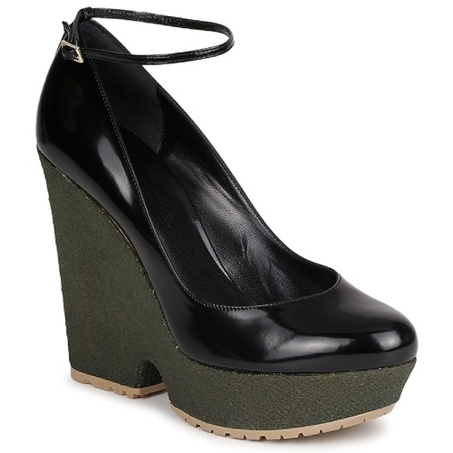 Schoenen Dames pumps Sonia Rykiel LOCK Zwart / Groen