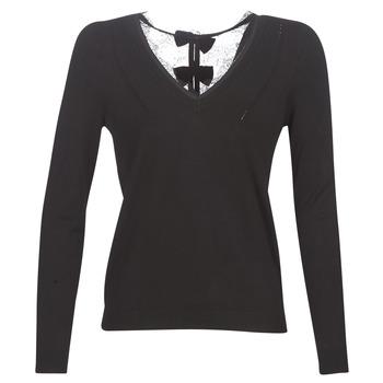 Textiel Dames Truien Naf Naf MITOU LONG NEW Zwart