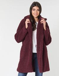 Textiel Dames Mantel jassen Naf Naf BIPROTEST Pruim