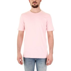 Textiel Heren T-shirts korte mouwen Selected 16059491 Rosa