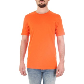Textiel Heren T-shirts korte mouwen Selected 16059491 Arancio