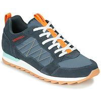 Schoenen Heren Lage sneakers Merrell ALPINE SNEAKER Blauw / Oranje