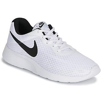 Schoenen Heren Lage sneakers Nike TANJUN Wit / Zwart
