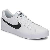 Schoenen Heren Lage sneakers Nike COURT ROYALE AC Wit / Zwart