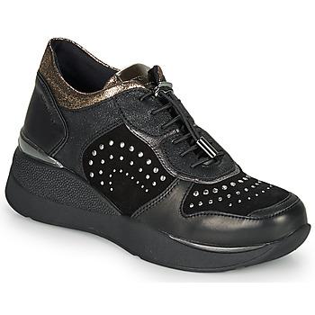 Schoenen Dames Lage sneakers Stonefly ELETTRA 6 Zwart