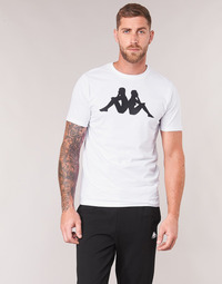 Textiel Heren T-shirts korte mouwen Kappa ESTESSO Wit