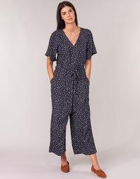 Textiel Dames Jumpsuites / Tuinbroeken Cream GERMINA Marine