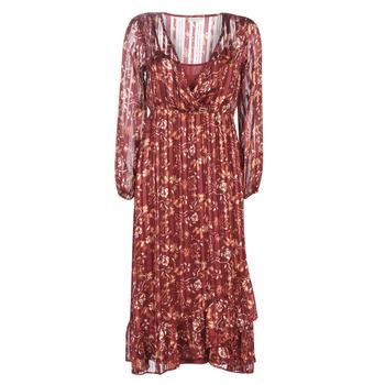 Textiel Dames Lange jurken Cream NILA Rood