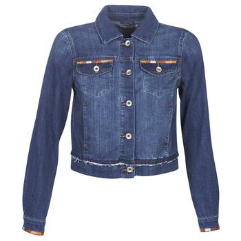 Textiel Dames Spijker jassen Cream DIWA Blauw