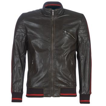 Textiel Heren Leren jas / kunstleren jas Desigual ANTON Bruin