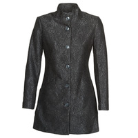 Textiel Dames Mantel jassen Desigual SIMONE Zwart
