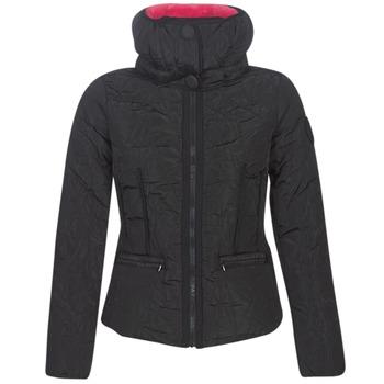Textiel Dames Dons gevoerde jassen Desigual BRISTOL Zwart