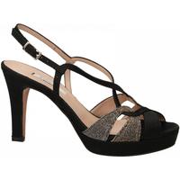 Schoenen Dames Sandalen / Open schoenen L'amour RASO NIGHT nero-oro