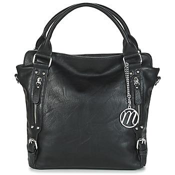 Tassen Dames Handtassen lang hengsel Moony Mood FIRA Zwart