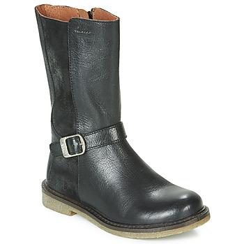 Schoenen Meisjes Hoge laarzen Aster WALI Zwart