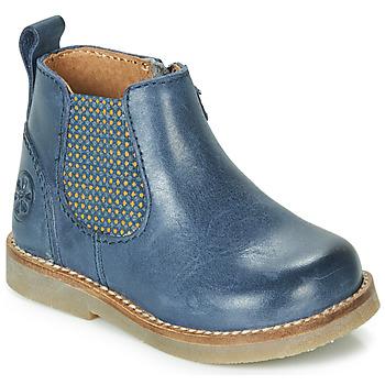 Schoenen Kinderen Laarzen Aster STIC Blauw