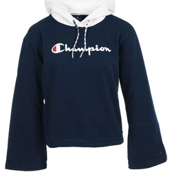 Textiel Dames Sweaters / Sweatshirts Champion Hooded Sweatshirt Wn's Zwart