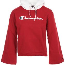 Textiel Dames Sweaters / Sweatshirts Champion Hooded Sweatshirt Wn's Rood