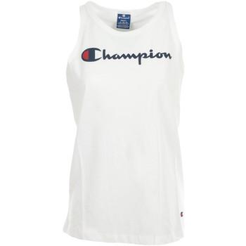 Textiel Dames Mouwloze tops Champion Tank Top Wit