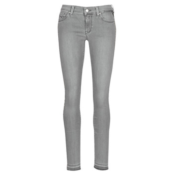 Textiel Dames Skinny jeans Replay LUZ Grijs