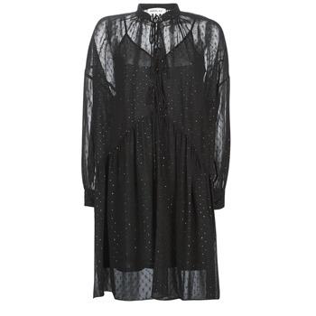 Textiel Dames Korte jurken Replay W9525-000-83494-098 Zwart
