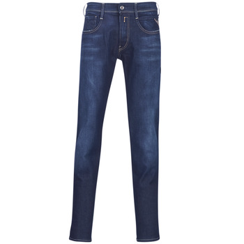 Textiel Heren Skinny jeans Replay ANBASS Blauw / Medium / 009