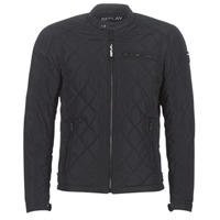 Textiel Heren Wind jackets Replay M8000 Zwart