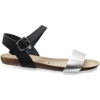 Schoenen Dames Sandalen / Open schoenen Amoa Hyeres Zwart leer