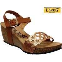 Schoenen Dames Sandalen / Open schoenen K. Daques Jina Bruin