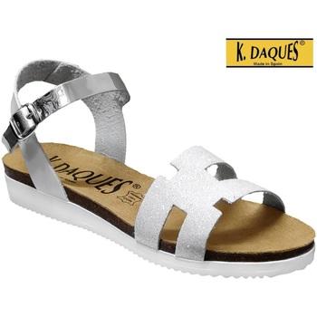 Schoenen Dames Sandalen / Open schoenen K. Daques Delta Wit