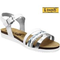 Schoenen Dames Sandalen / Open schoenen K. Daques Denia Wit