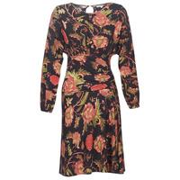 Textiel Dames Korte jurken Derhy BANQUISE Zwart / Multi
