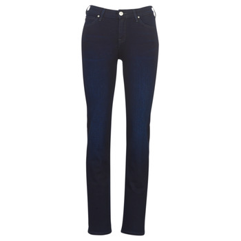 Textiel Dames Straight jeans Lee MARION STRAIGHT DARK MULBERRY Blauw