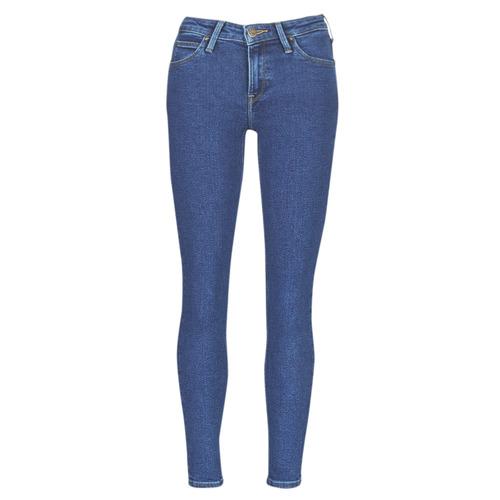 Textiel Dames Skinny jeans Lee SCARLETT STONE MILTONA Blauw