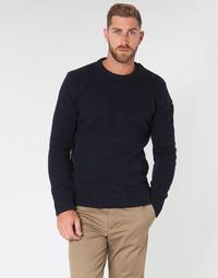 Textiel Heren Truien Schott PLOUTRIDER1 Marine