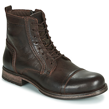 Schoenen Heren Laarzen Jack & Jones JFW RUSSEL LEATHER Bruin