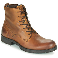 Schoenen Heren Laarzen Jack & Jones JFW ORCA LEATHER Cognac