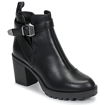 Schoenen Dames Enkellaarzen Only BARBARA HEELED Zwart