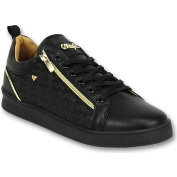 Schoenen Heren Lage sneakers Cash Money Zwarte Sneakers Mannen - Schoenen Heren  Maya Full Black 38