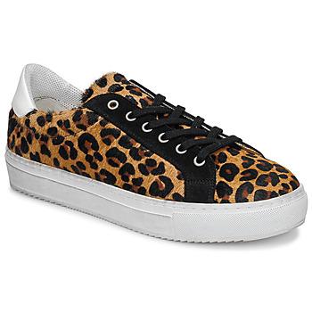 Schoenen Dames Lage sneakers Ikks BP80245-62 Luipaard