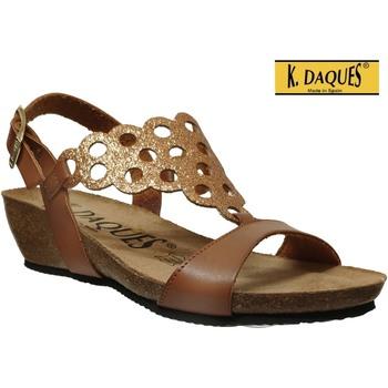 Schoenen Dames Sandalen / Open schoenen K. Daques Elo Bruin