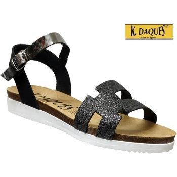 Schoenen Dames Sandalen / Open schoenen K. Daques Delta Zwart