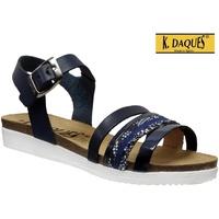 Schoenen Dames Sandalen / Open schoenen K. Daques Denia Marineblauw