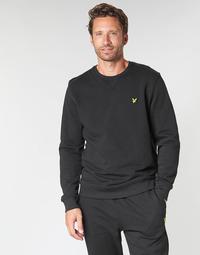 Textiel Heren Sweaters / Sweatshirts Lyle & Scott ML424VTR-574 Zwart